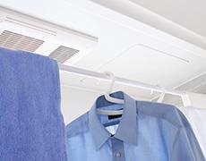 浴室乾燥機の設置画像