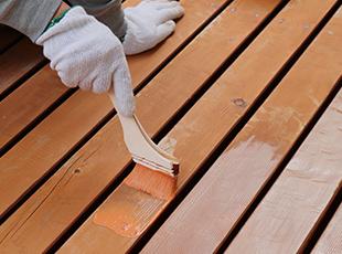 木製の建具などの塗装画像