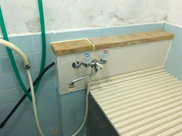 風呂漏水修繕