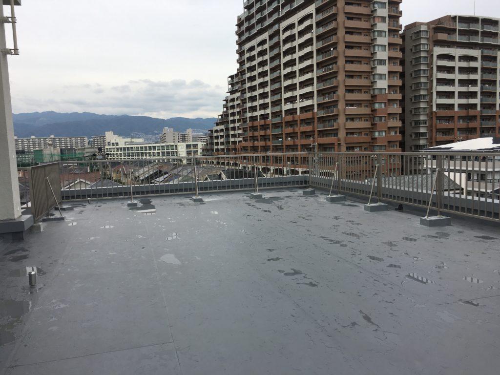 屋上柵改修