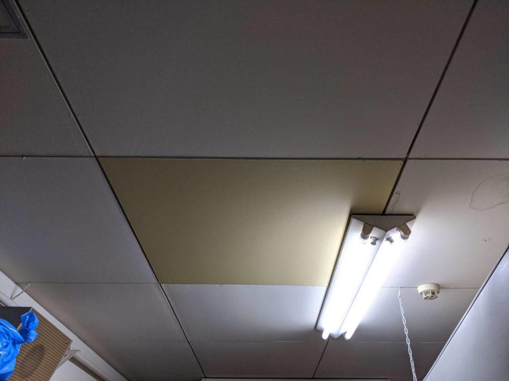 神戸市北区 幼稚園内給食室天井修繕