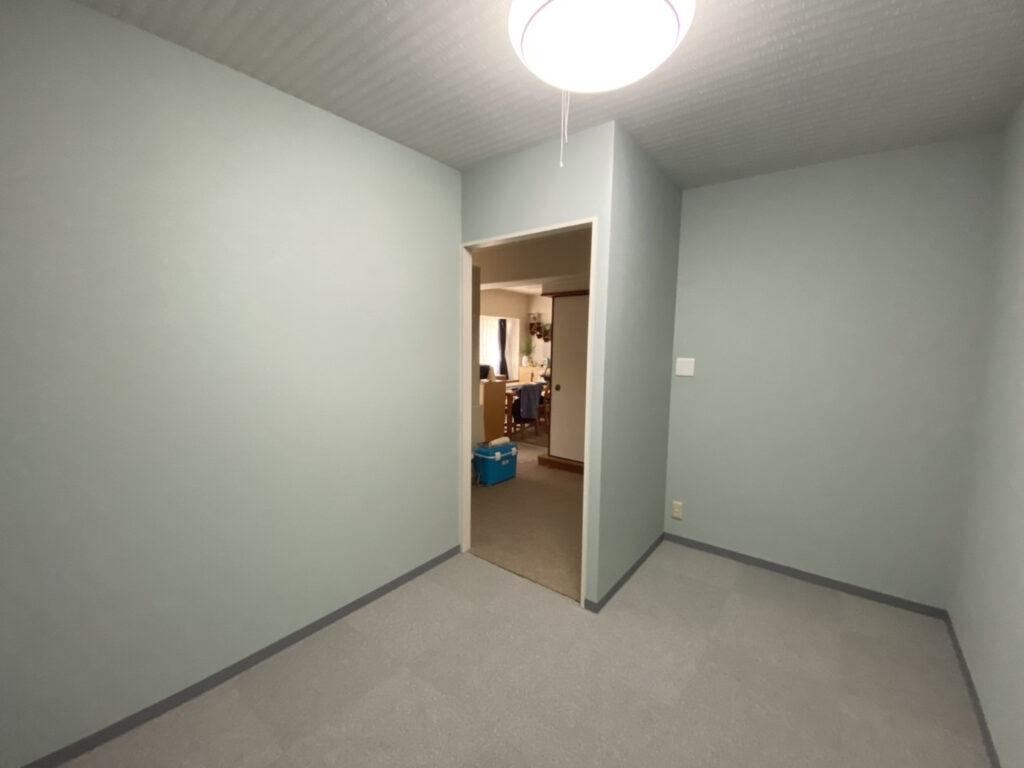 神戸市北区 マンションリビング間仕切り部屋増設工事