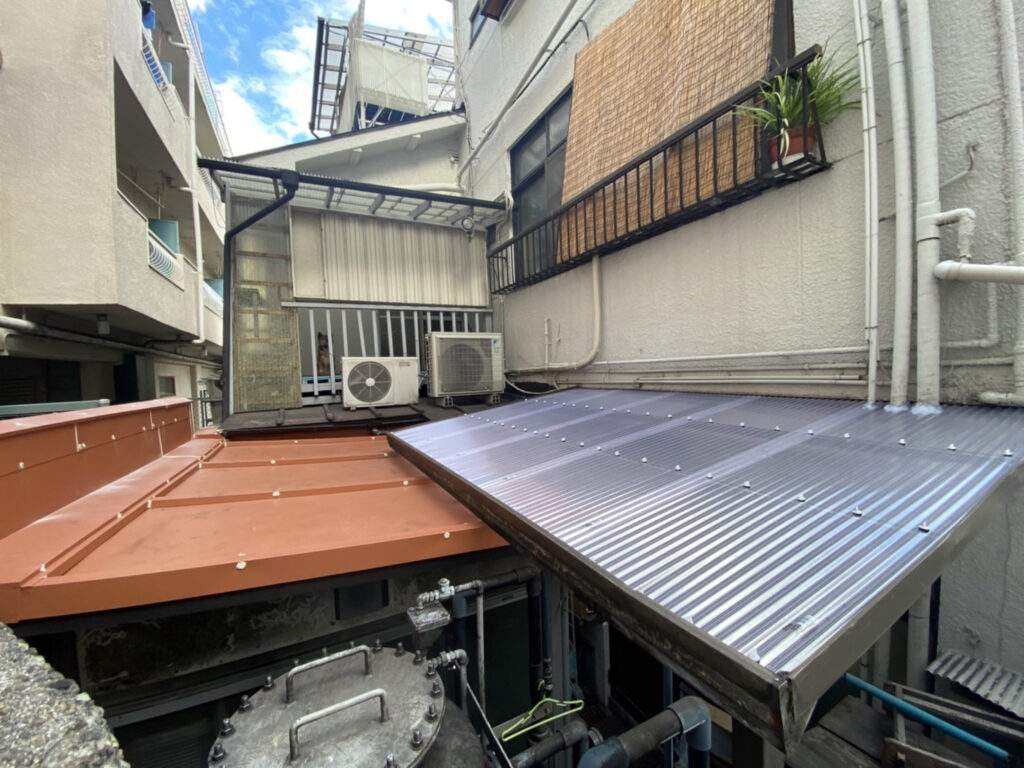 神戸市灘区 屋根雨漏り修繕工事